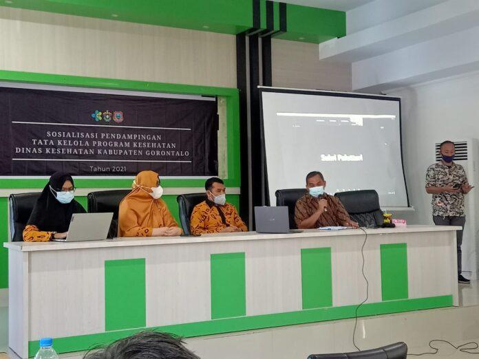 FKM Unhas Lakukan Pendampingan Tata Kelola Program Kesehatan di Kabupaten Gorontalo atas Kerjasama Kementerian Kesehatan RI